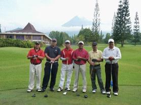Merapi Golfer
